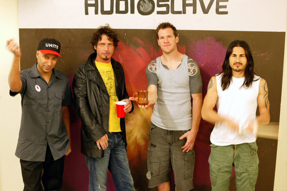 Audioslave in Winnepeg Canada on 10/04/2005.